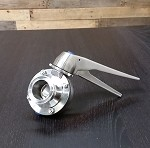 Sanitary Butterfly Valve with Stainless Handle